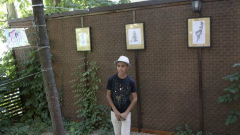پیشنهاد شهروندی صربستان به پیکاسوی کوچک افغانستان
