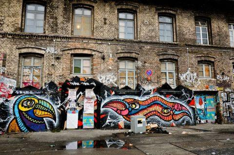 گشایش بزرگترین نمایشگاه گرافیتی جهان در برلین