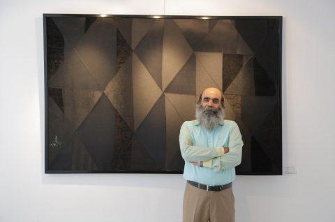 گفتگو با سعید فلاح فر در گالری ایده پارسی