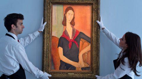 رسوایی آثار تقلبی در نمایشگاه آثار آمادئو مودیلیانی
