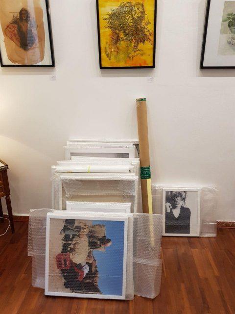 نمایشگاه برگزیدگان دومین دوره جشنواره هنر ایران در پاریس