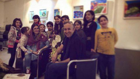 گفتگو با آبان اطمینان هنرمند و مدرس نقاشی