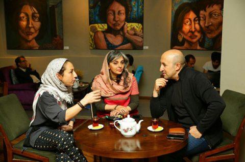 کافه جای نشستن نیست؛ گفتگوی فاروق مظلومی مریم آقایى و بهرو باقرى