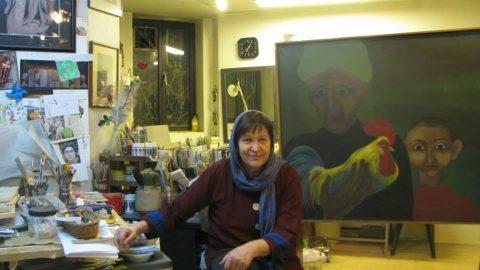 گفتگو با نقاش معاصر گیزلا وارگا سینایی