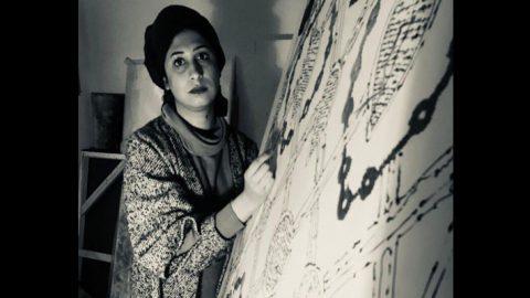 بومهای سوزندوزیشده فریناز نصیرپور