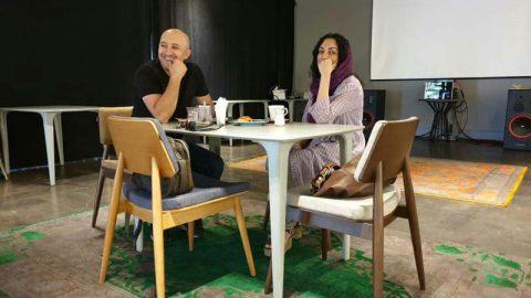گفتگو با سیمین کرامتی هنرمند چندرسانه ای